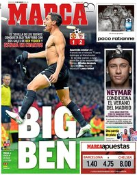 capa Jornal Marca de 14 março 2018
