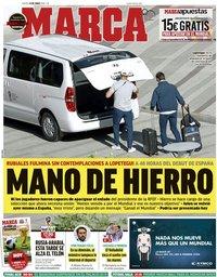 capa Jornal Marca de 14 junho 2018