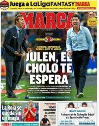 capa Jornal Marca de 14 agosto 2018
