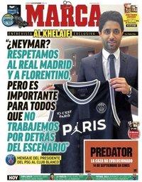 capa Jornal Marca de 14 setembro 2018