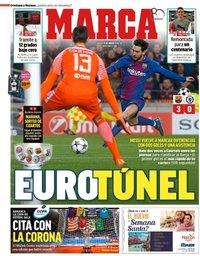 capa Jornal Marca de 15 março 2018