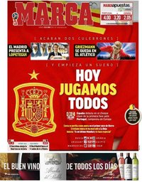 capa Jornal Marca de 15 junho 2018