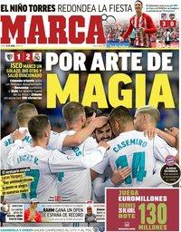 capa Jornal Marca de 16 abril 2018