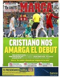 capa Jornal Marca de 16 junho 2018