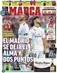 capa Jornal Marca de 16 setembro 2018