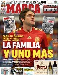 capa Jornal Marca de 17 março 2018