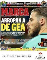 capa Jornal Marca de 17 junho 2018