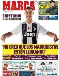 capa Jornal Marca de 17 julho 2018