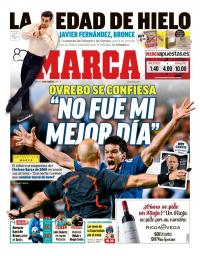 capa Jornal Marca de 18 fevereiro 2018