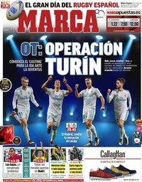 capa Jornal Marca de 18 março 2018