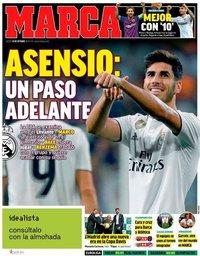 capa Jornal Marca de 18 outubro 2018