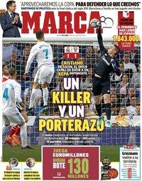 capa Jornal Marca de 19 abril 2018