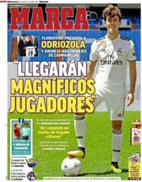 capa Jornal Marca de 19 julho 2018