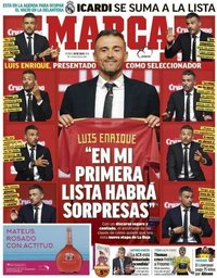 capa Jornal Marca de 20 julho 2018
