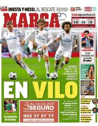capa Jornal Marca de 21 fevereiro 2018