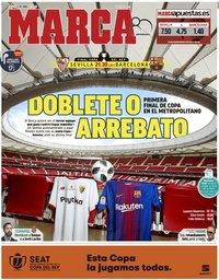 capa Jornal Marca de 21 abril 2018