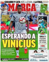 capa Jornal Marca de 21 agosto 2018