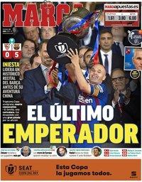 capa Jornal Marca de 22 abril 2018