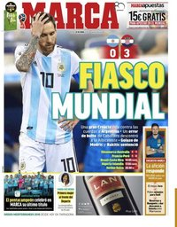 capa Jornal Marca de 22 junho 2018