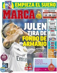 capa Jornal Marca de 22 setembro 2018