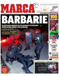 capa Jornal Marca de 23 fevereiro 2018
