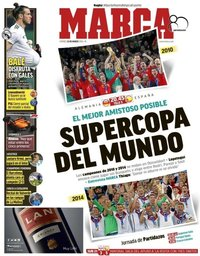 capa Jornal Marca de 23 março 2018