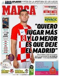capa Jornal Marca de 23 junho 2018
