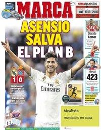 capa Jornal Marca de 23 setembro 2018