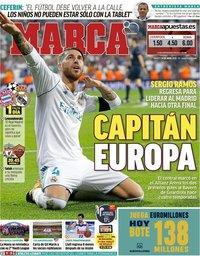 capa Jornal Marca de 24 abril 2018