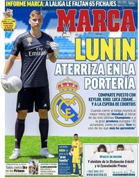 capa Jornal Marca de 24 julho 2018