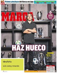 capa Jornal Marca de 24 setembro 2018