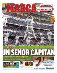 capa Jornal Marca de 25 fevereiro 2018