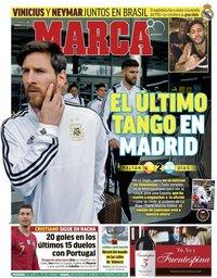 capa Jornal Marca de 25 março 2018