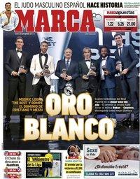 capa Jornal Marca de 25 setembro 2018