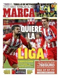 capa Jornal Marca de 26 fevereiro 2018