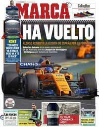 capa Jornal Marca de 26 março 2018