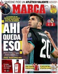 capa Jornal Marca de 26 abril 2018