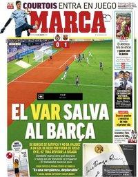 capa Jornal Marca de 26 agosto 2018