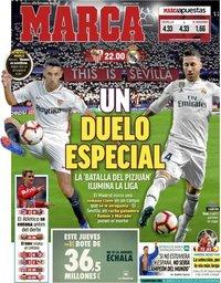 capa Jornal Marca de 26 setembro 2018