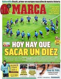 capa Jornal Marca de 27 março 2018