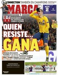 capa Jornal Marca de 27 abril 2018