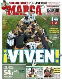 capa Jornal Marca de 27 junho 2018