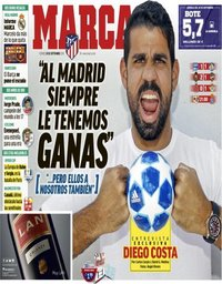 capa Jornal Marca de 28 setembro 2018