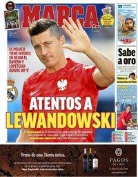 capa Jornal Marca de 29 julho 2018