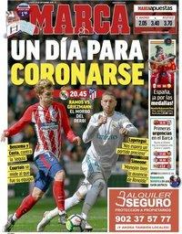 capa Jornal Marca de 29 setembro 2018