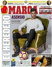 capa Jornal Marca de 30 março 2018