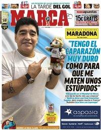 capa Jornal Marca de 30 junho 2018