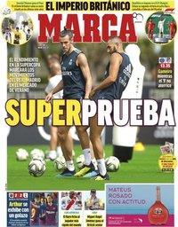 capa Jornal Marca de 30 julho 2018