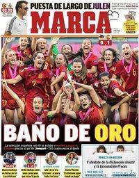 capa Jornal Marca de 31 julho 2018