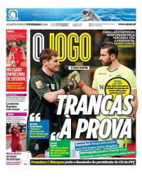 capa Jornal O Jogo de 7 fevereiro 2018